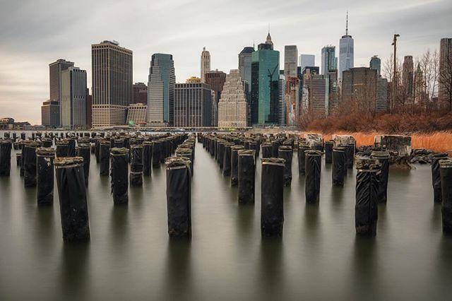 #brooklynbridgepark #skyline #nyc #manhattan #longexposure