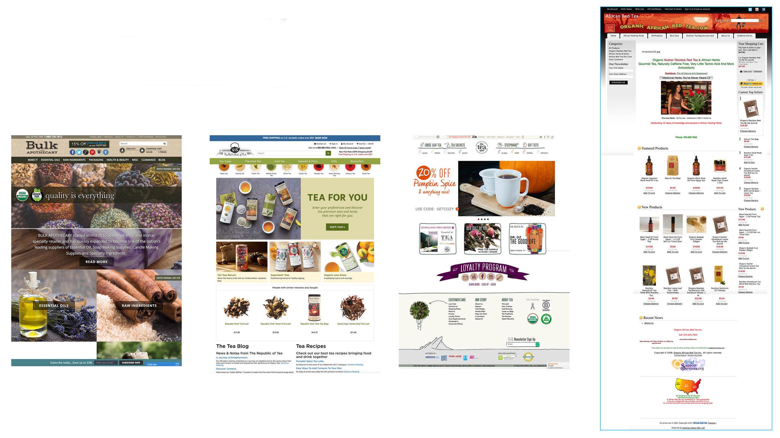 Landing Page Comparison