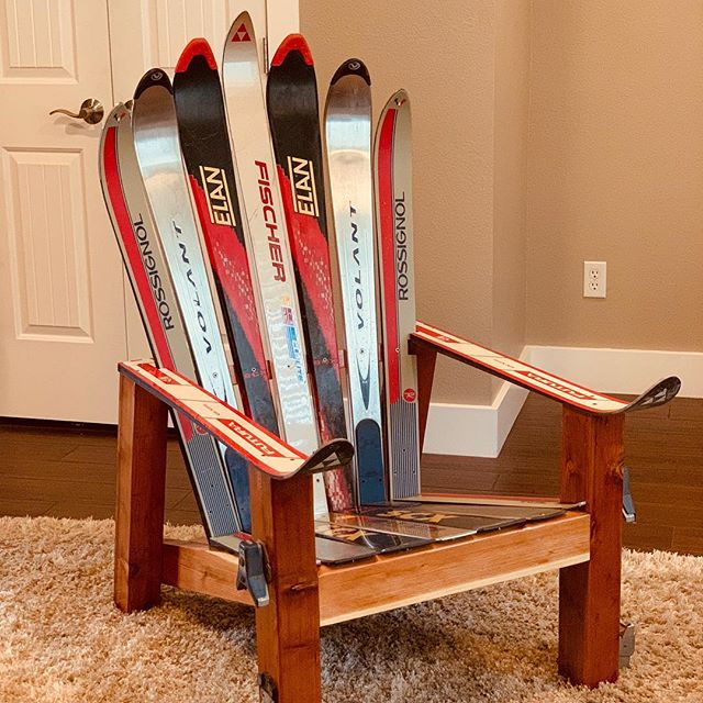 There is still time to buy your tickets to the Gala so you can come and bid on great things like this ski chair. To buy your tickets, go to www.smsef.org . . . #HigherLevelGiving #Charity #FundRaiser