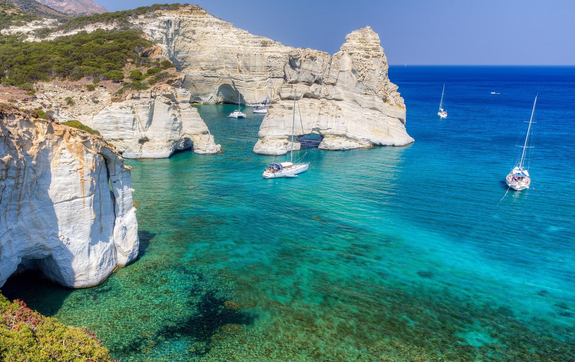 1920Kleftiko Milos island Cyclades Greece.jpg