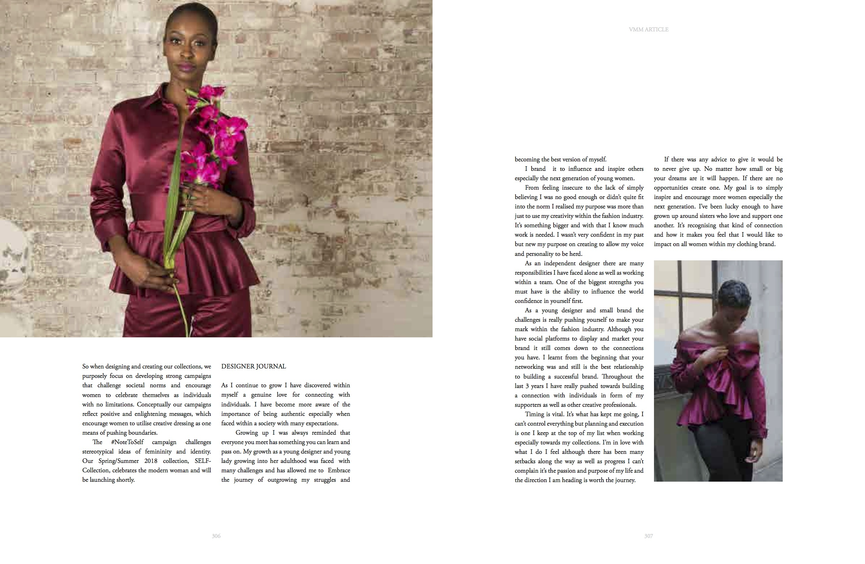 VMM magazine feature