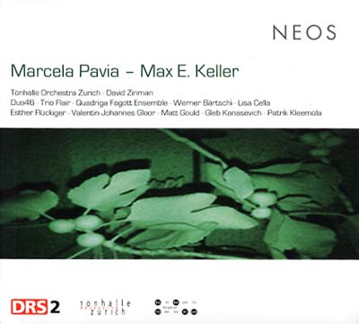 """Music of Marcela Pavia and Max E. Keller this album includes a recording of Pavia's """"Amancay"""" for clarinet and guitar"""