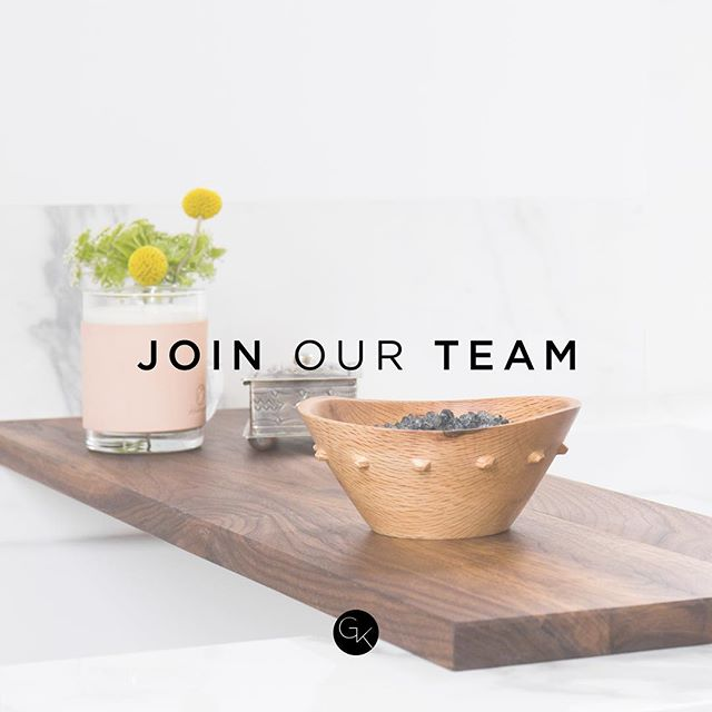 GGK is currently seeking a Design Assistant to join our team!  Requirements: - Fun + outgoing! - Must know Auto CAD - Be familiar with drawing detailed elevations + construction documents - Able to put together digital presentations — If interested, send us an email: hello@gigikramerinteriors.com *serious inquires only please*