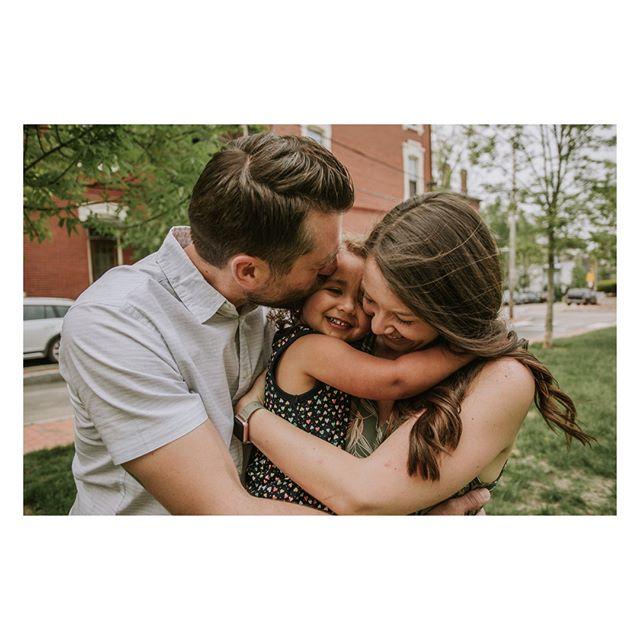 Love a good family hug!