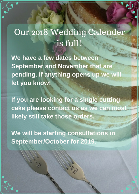Our 2018 Wedding Calender is full!.jpg