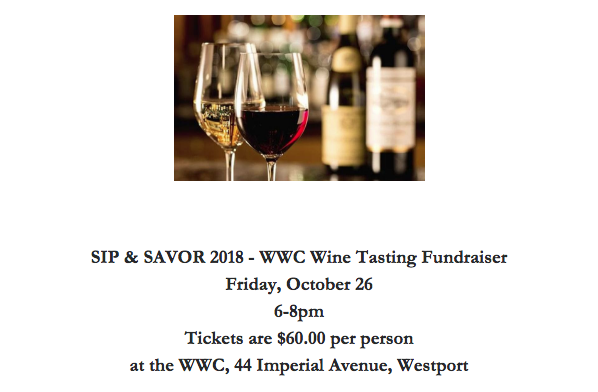 Gruel Britannia will be catering the Westport Women's Club's Sip & Savor Event in partnership with Castle Wine. In addition, the grand prize will be a Chef's Table Dinner by Gruel Britannia, valued at $400.
