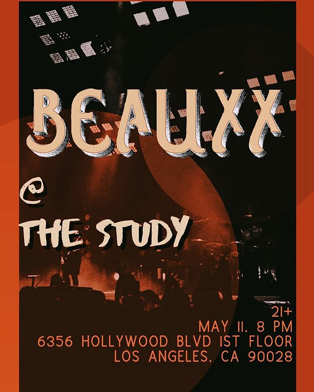 we're playing again this saturday! this time at @thestudyhollywood 8pm 21+  dm me for the info for tickets!! :)