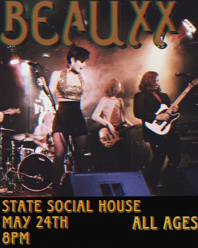 WE'RE PLAYING AGAIN!! May 24th at the State Social House!!! 8pm!! all ages!! and FREE!! Come out!!!