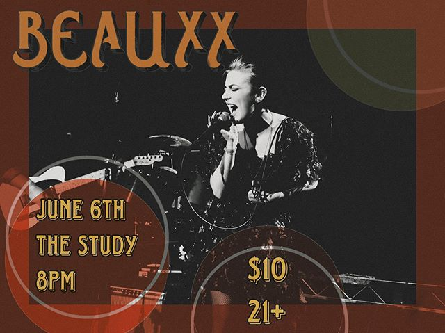 hey guys! come out the @thestudyhollywood on june 6th! we're playing again!! tix are $10 presale and $15 at the door! 8pm! 21+!!