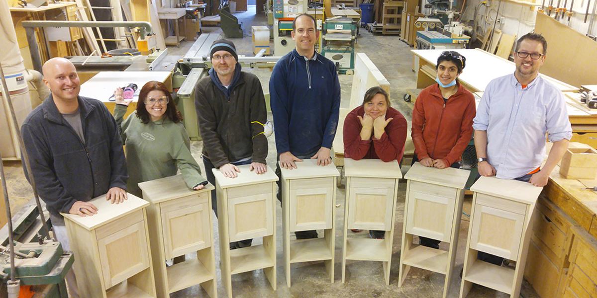 Cabinetmaking class