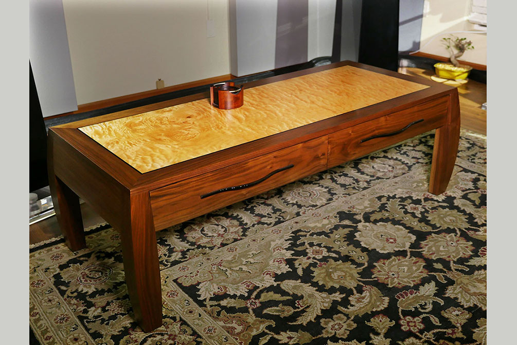 2015-8/25 Coffee Table with drawers