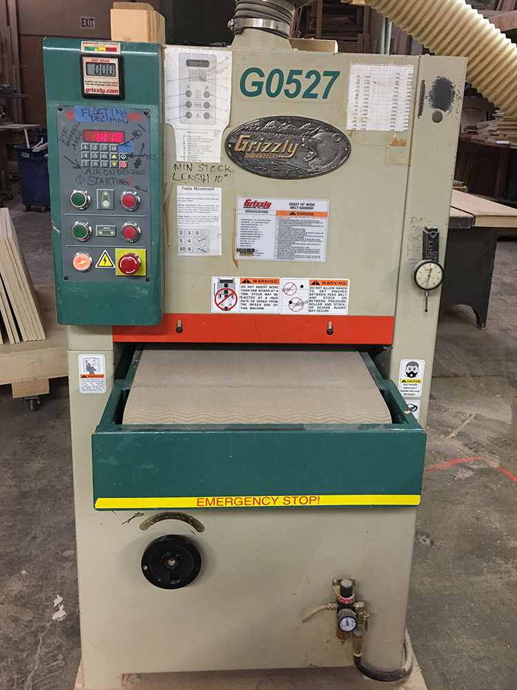 "18"" Grizzly Wide Belt Sander"