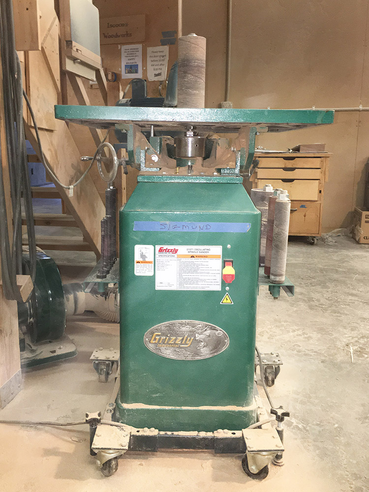 Grizzly Oscillating Spindle Sander