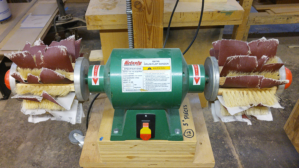 Grizzly Flap Sander
