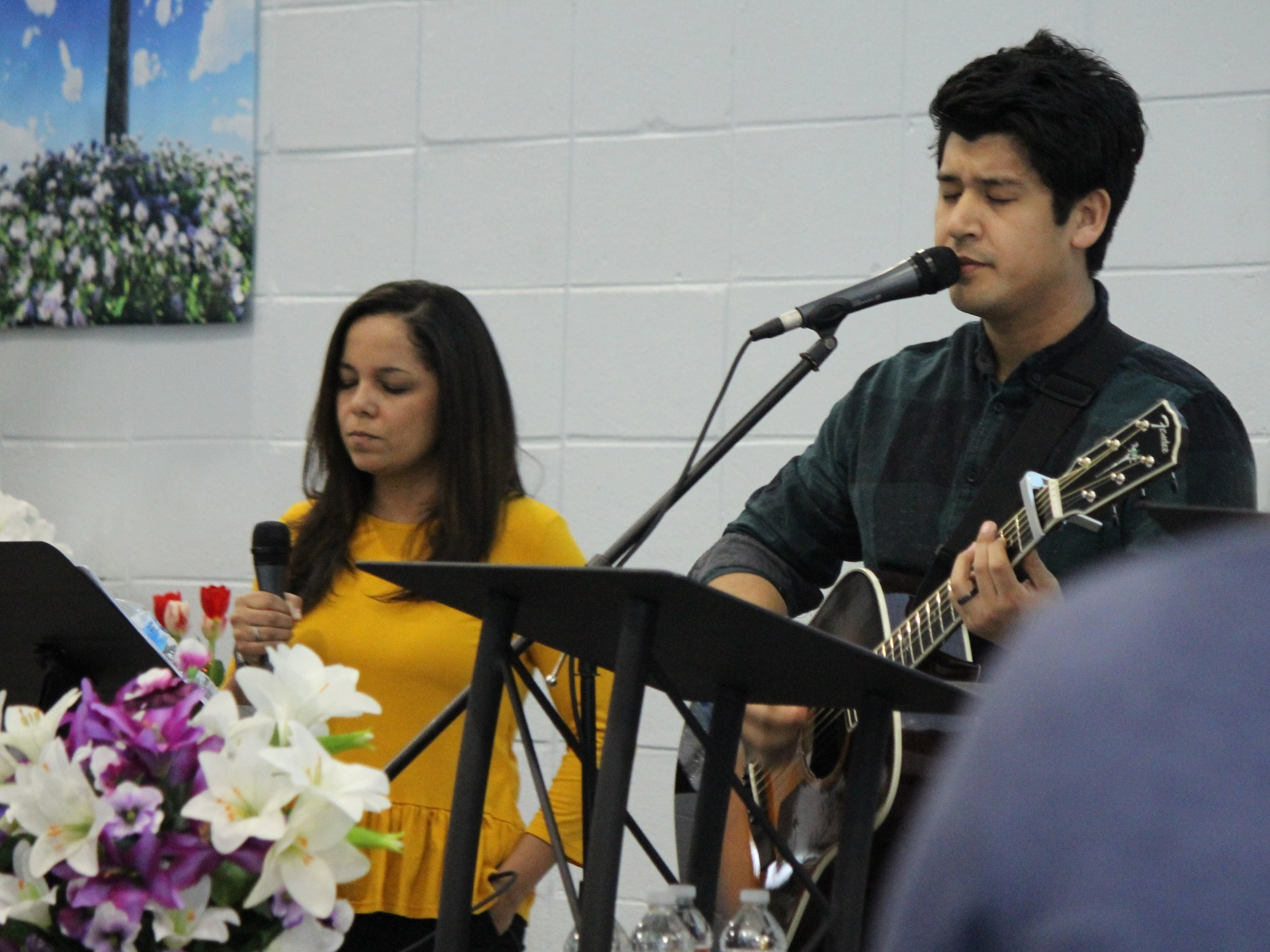CHRIST-CENTERED WORSHIP - We are blessed with an amazing worship team who is committed to leading us into the presence of the Lord every Sunday!