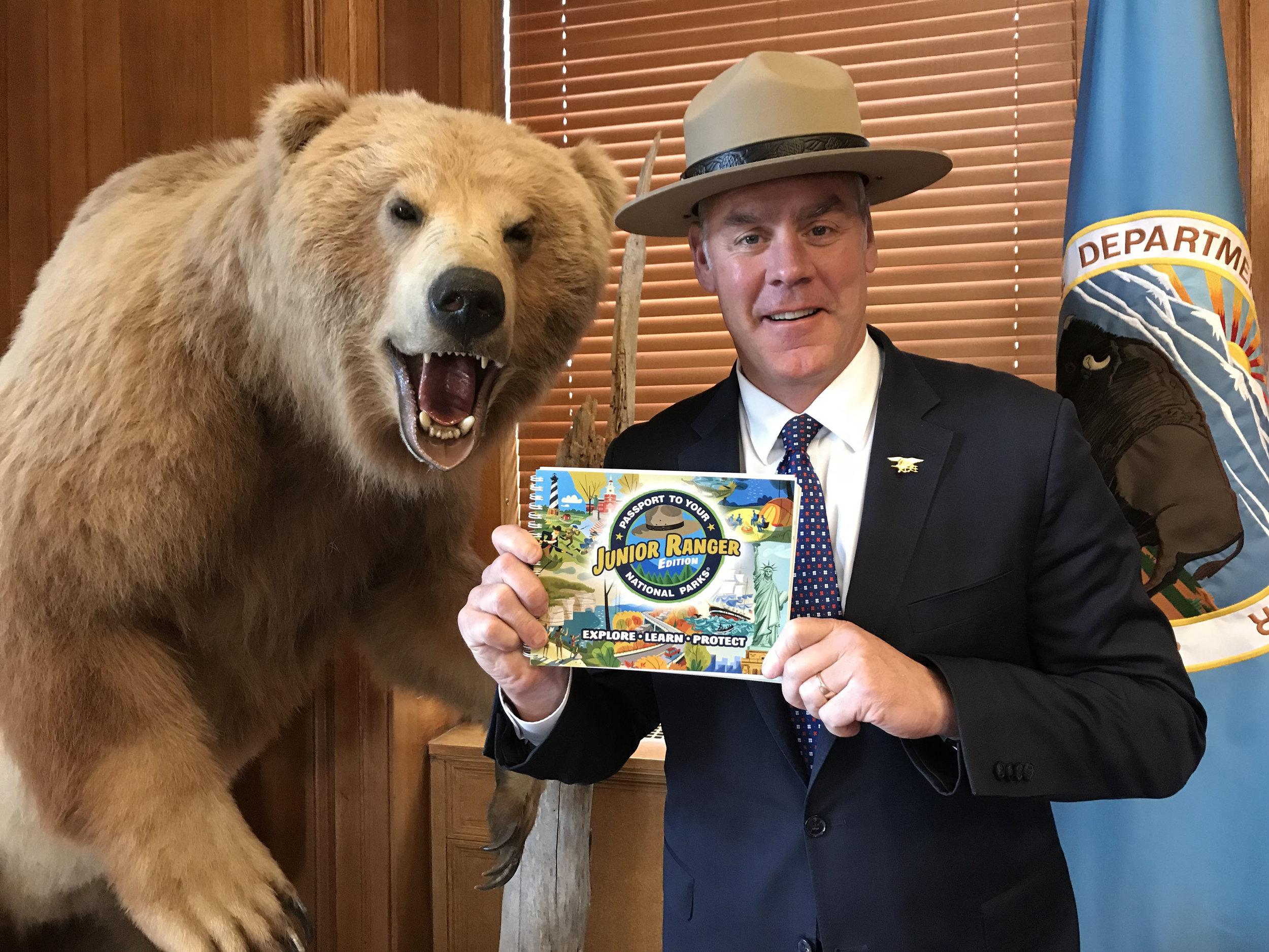 Junior Ranger Passport Book