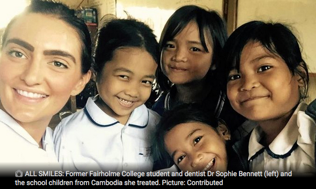 TOOWOOMBA DENTIST DR SOPHIE BENNETT TREATS LOCAL CHILDREN DENTAL PATIENTS IN CAMBODIA