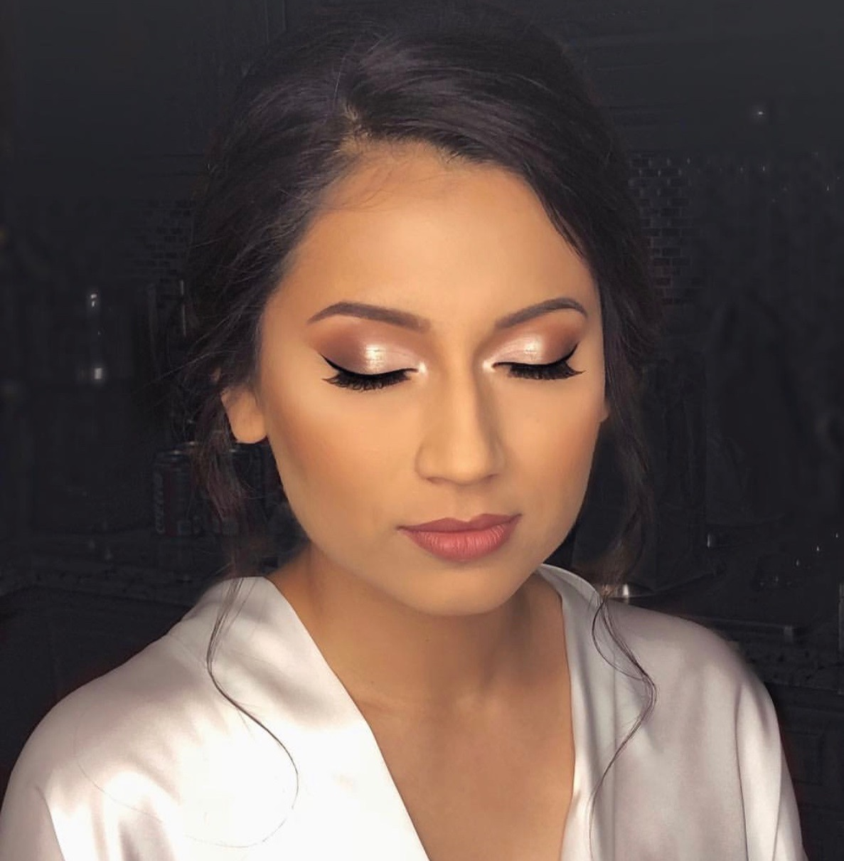 """""""I loved my makeup! Thank you!! 😍"""" - Elsie Shawn"""