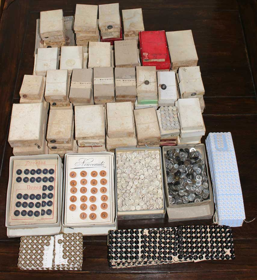 14,000 Deadstock 1920s Buttons