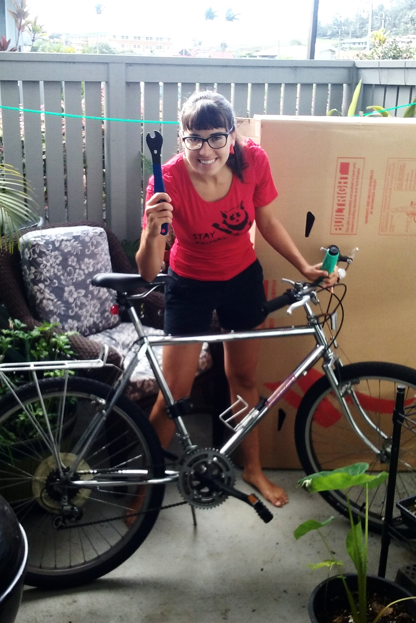 Luckily for me, I worked at a bike shop in Hilo, Hawaii for a year, and while that doesn't make me an expert, it does mean I've had some practice with putting bicycles into boxes.  -