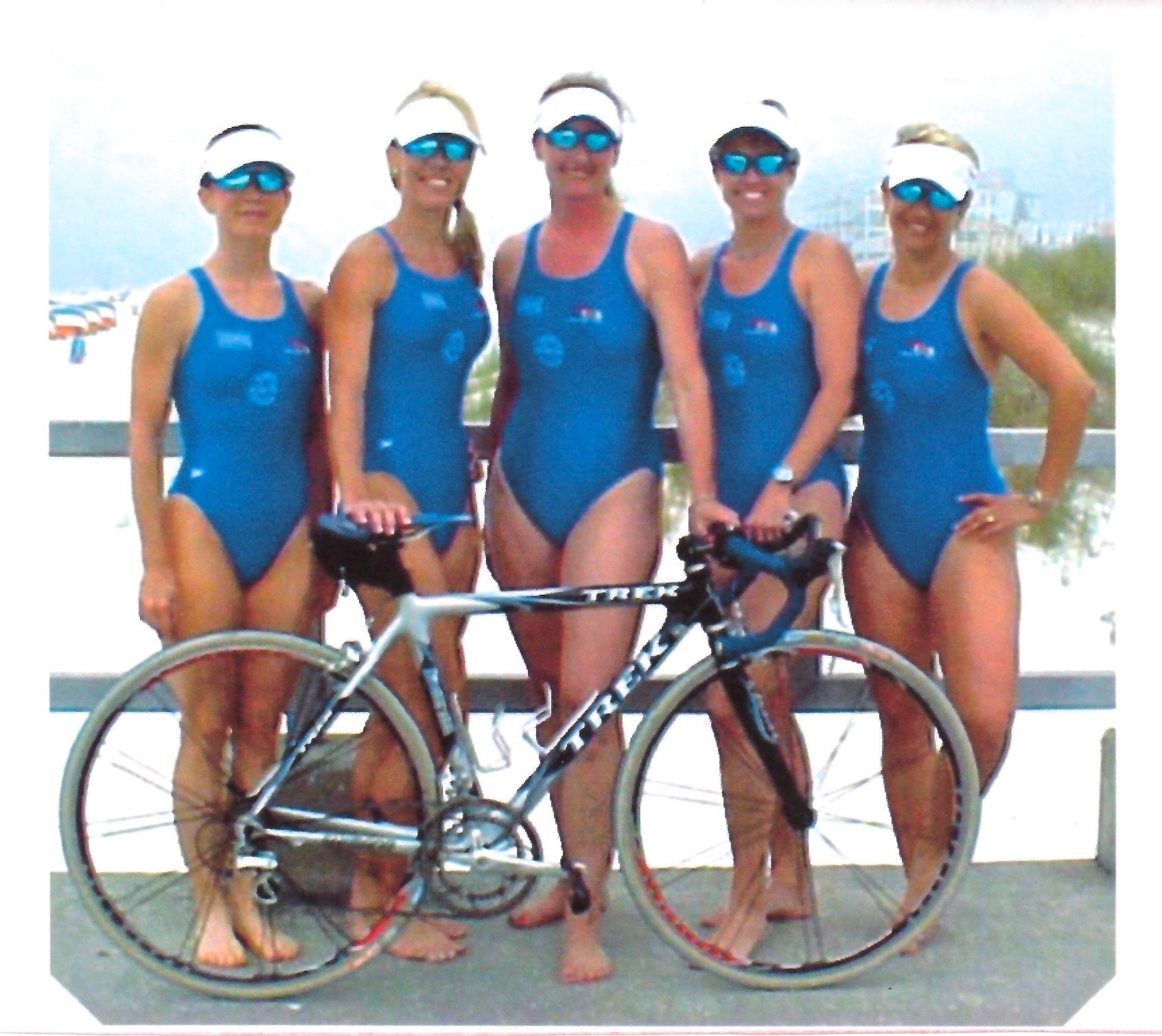 """I did a handful of triathlons in Florida; my best splits were on the bike."" -"