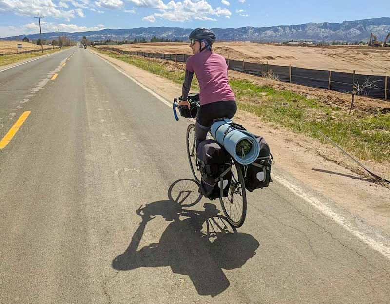 """As I started seeking bike tour info online, I found a male-dominated field with room for more female perspective."" -"