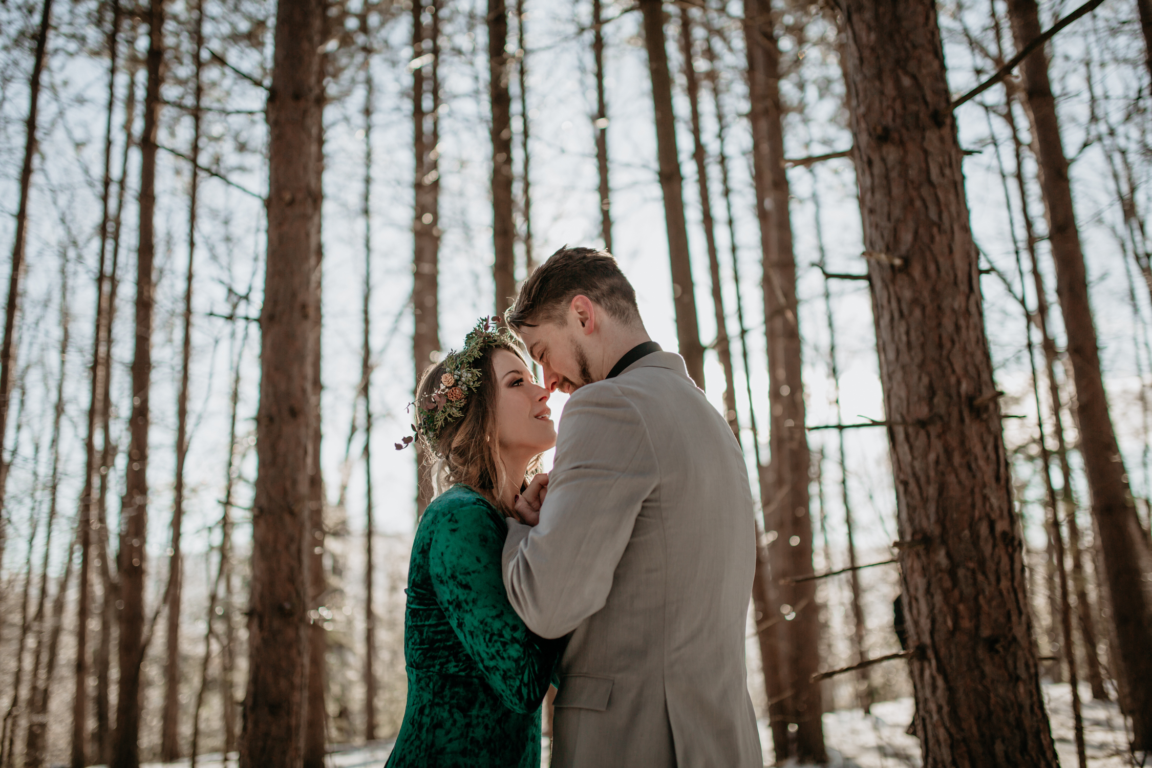 Julie & Nick | Styled Winter Wedding - Red Hook, NY