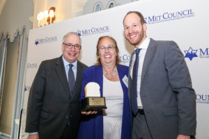 Comptroller Scott Stringer, Borough President Gale Brewer, David Greenfield, CEO, Met Council