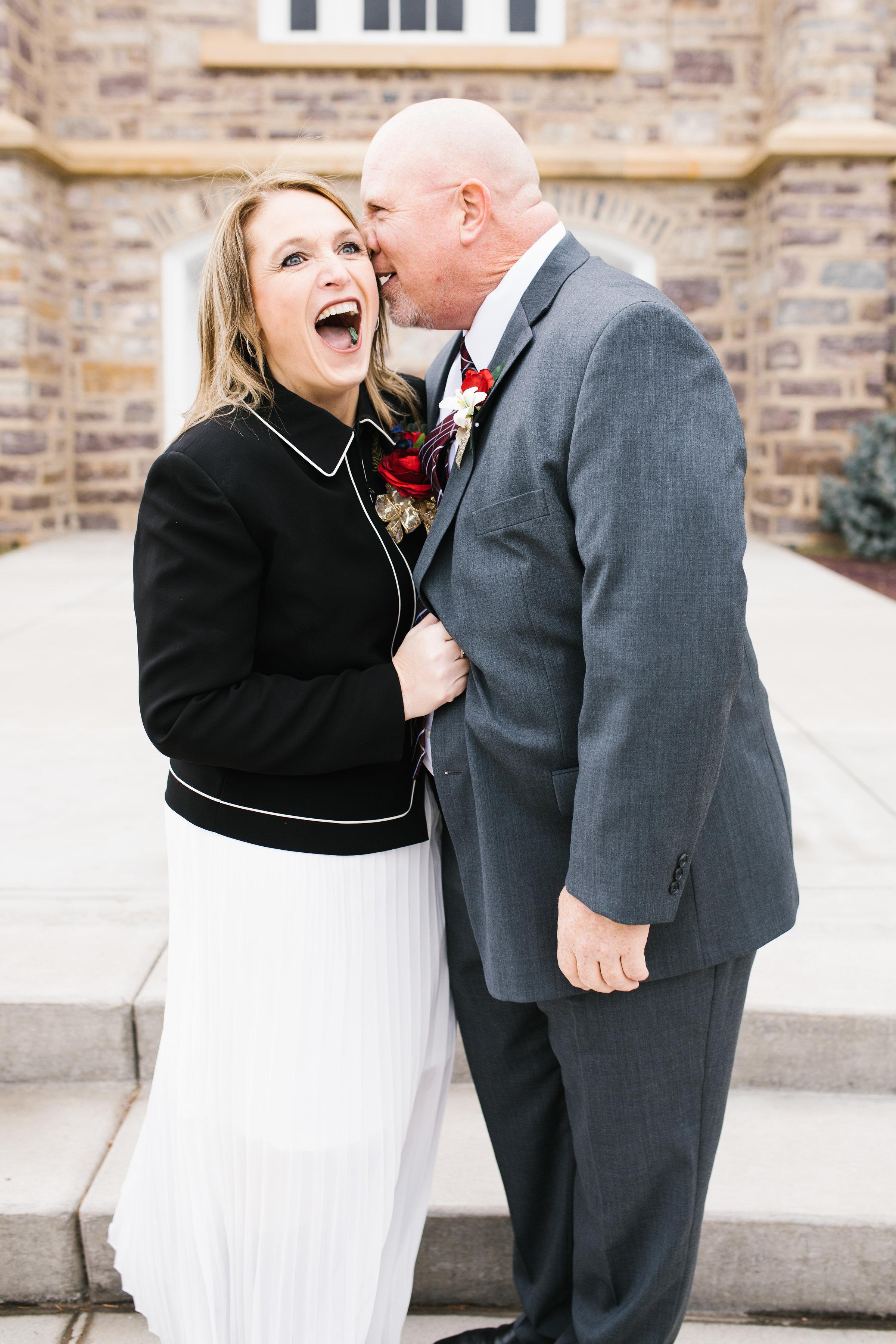 Logan Utah LDS Wedding Temple