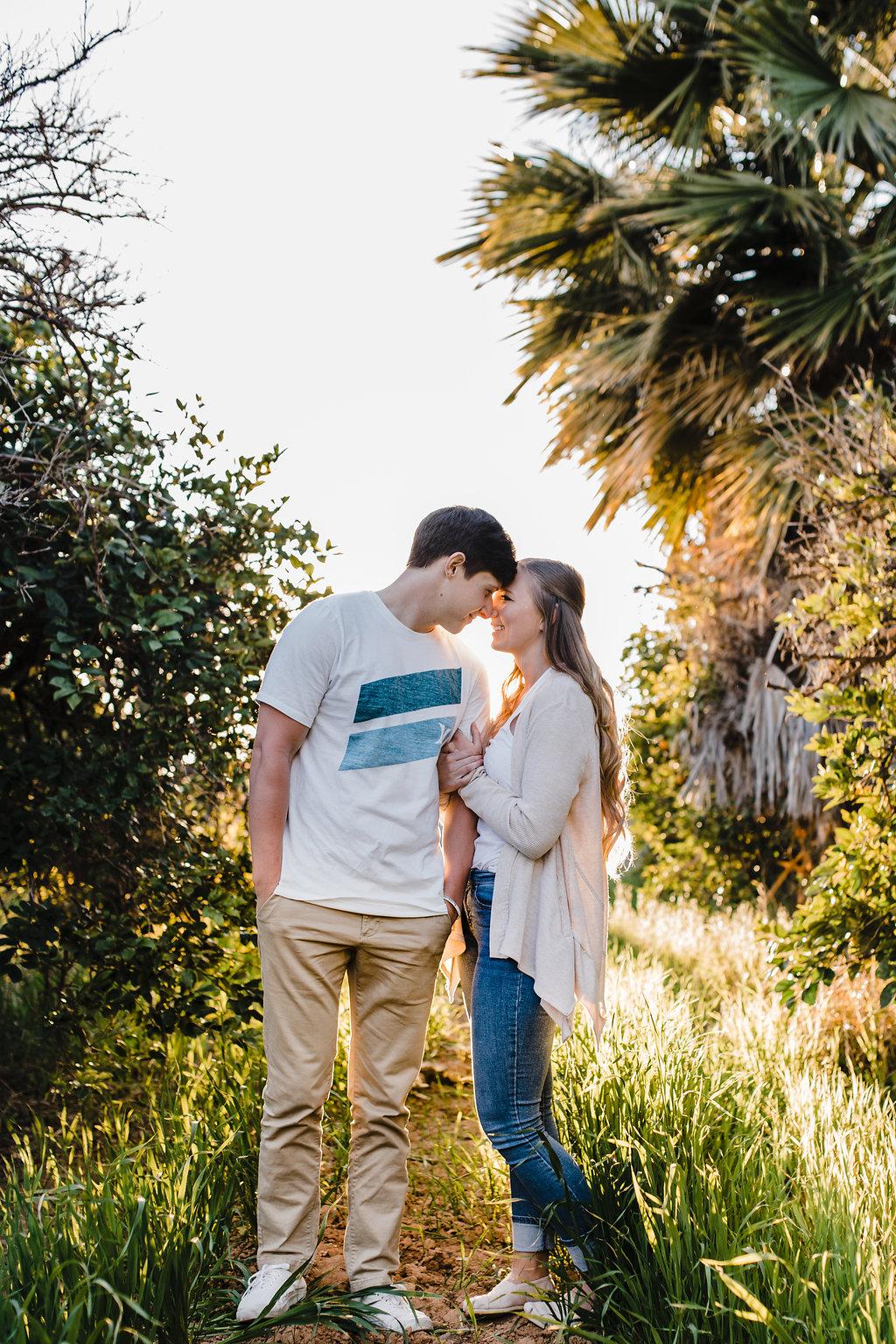 natural romantic engagement photography logan utah cache valley ut