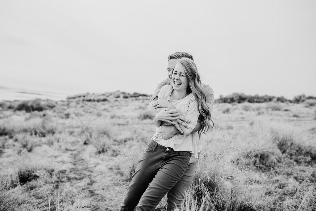 black and white engagement photography session in logan utah