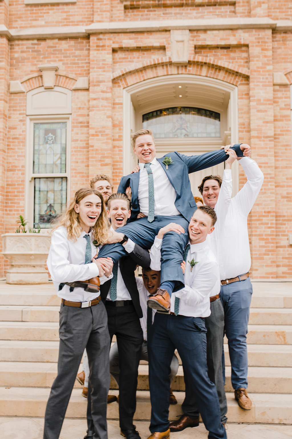 wedding party professional wedding photographer provo utah