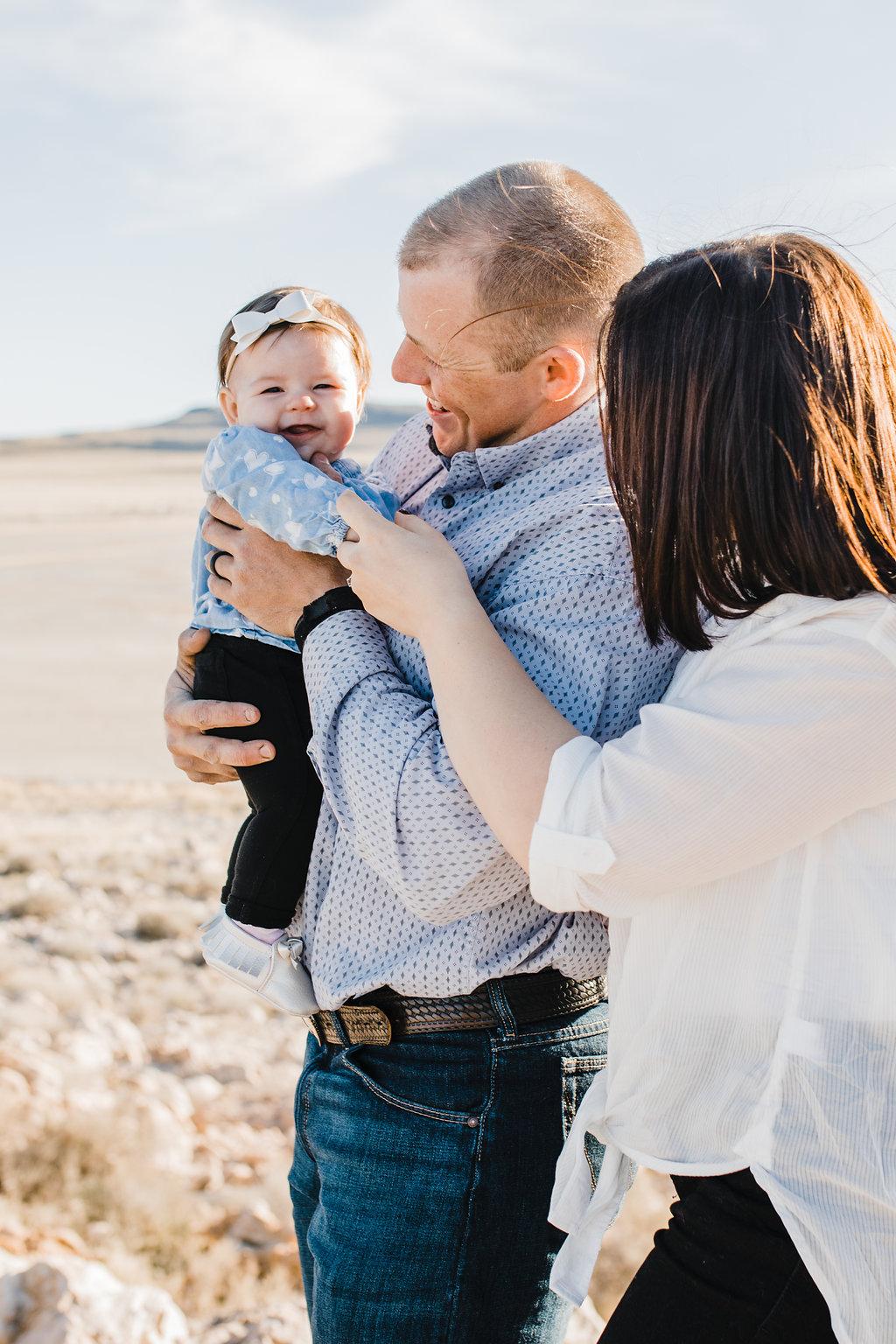 professional family photographer antelope island