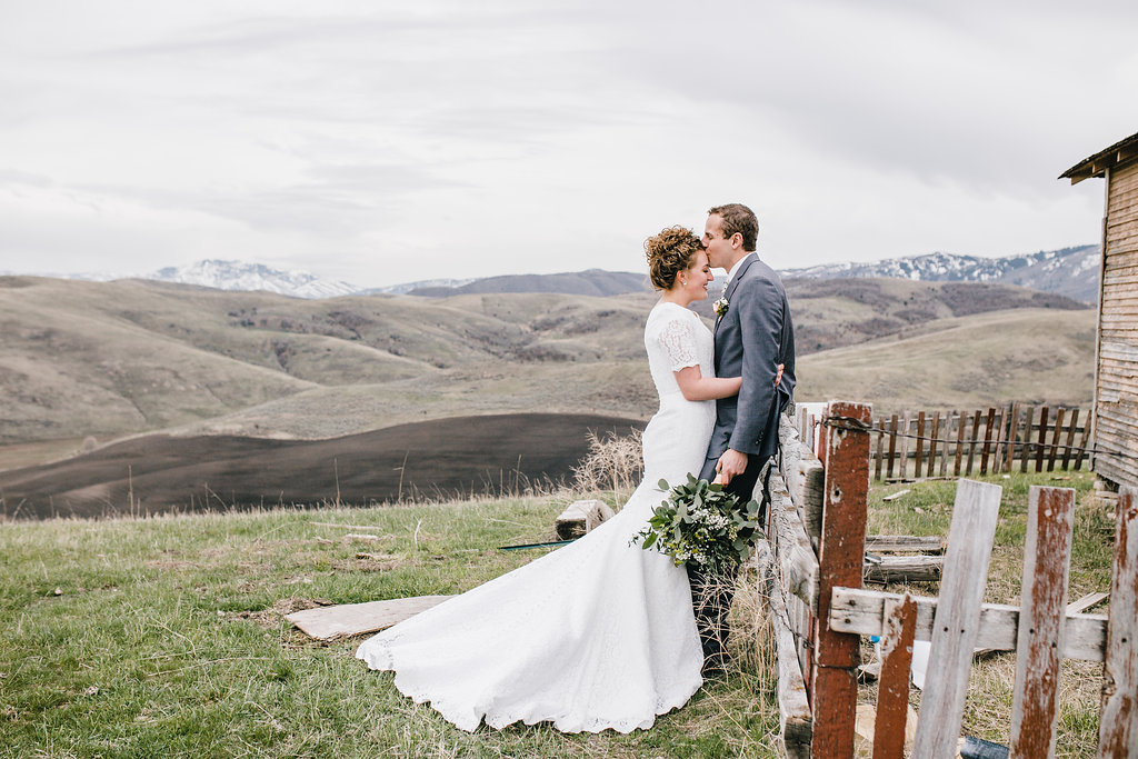 romantic mountains outdoor wedding photography formals logan utah professional photographer