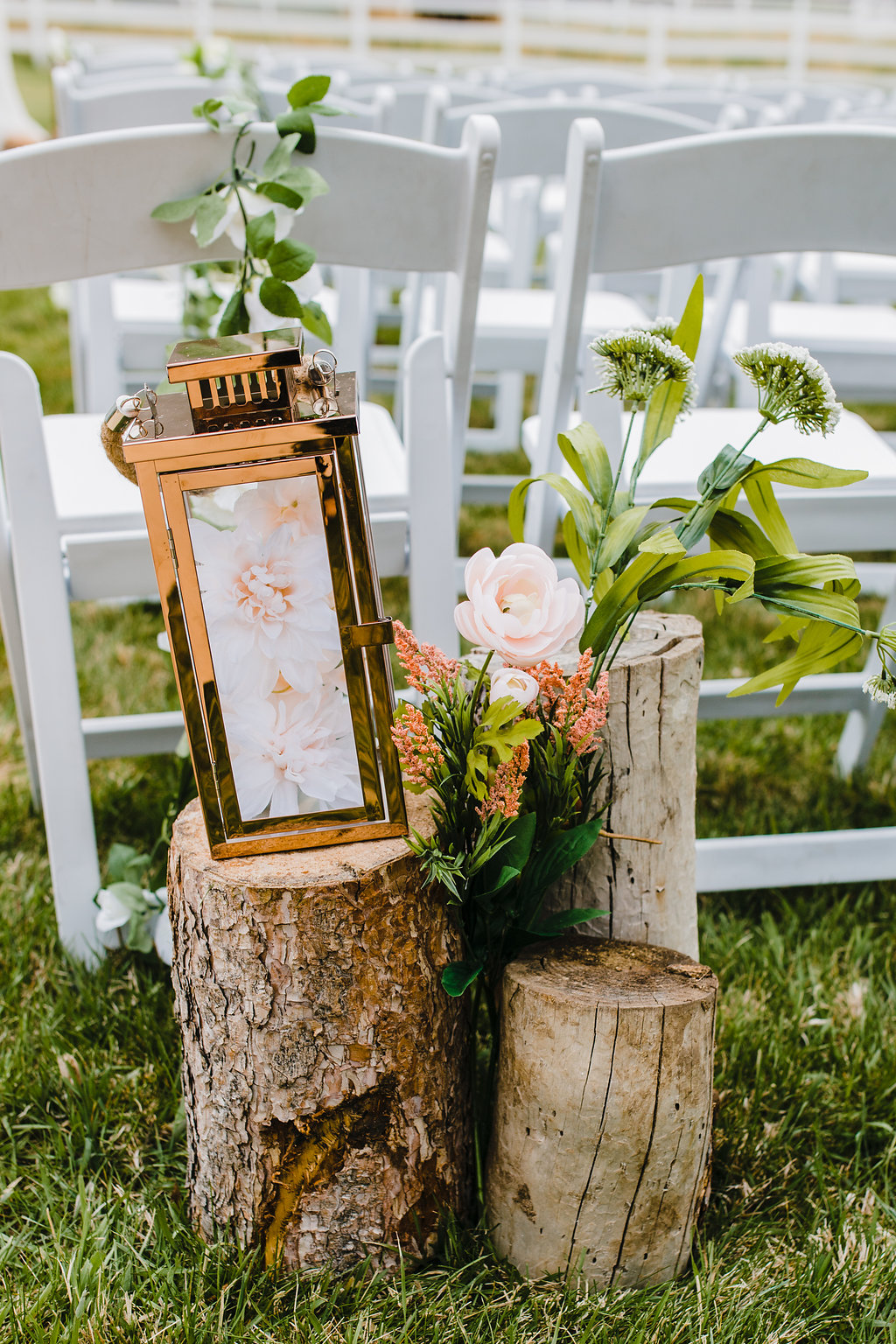 wedding ceremony decoration outdoor wedding photographer in park city utah bride and groom wedding day