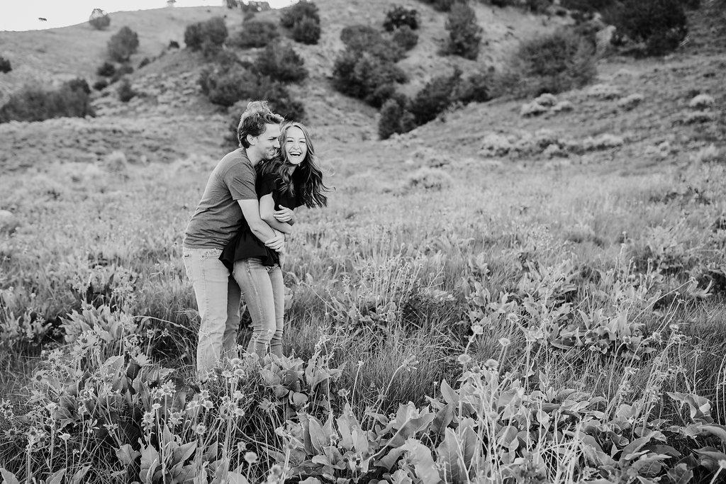 black and white romantic engagement photos best engagement photographer in logan utah calli richards