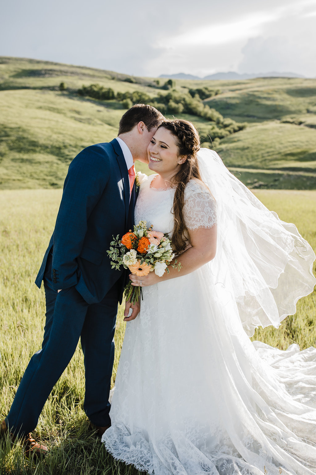 best wedding photographer in cache valley adventurous bridal photos rolling hills