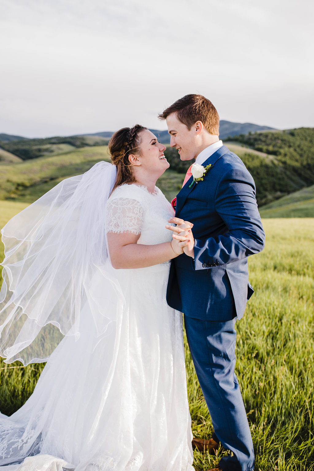 summer wedding adventurous formal photos best wedding photographer in logan utah
