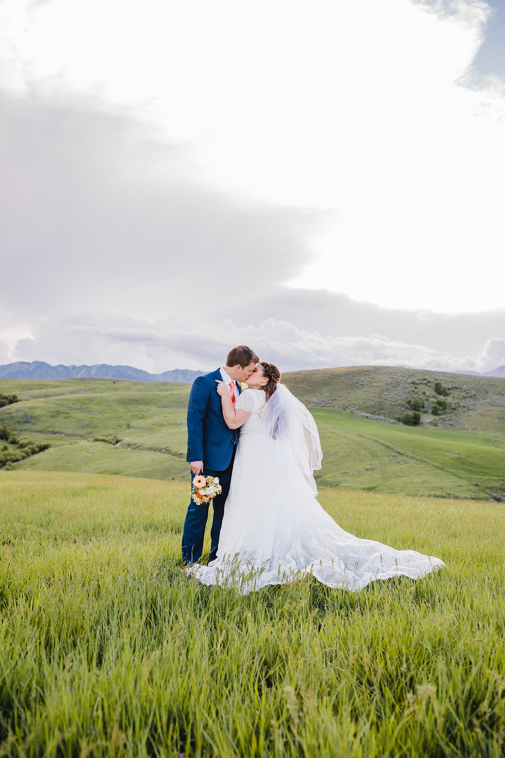 outdoor romantic adventurous wedding photography cache valley formals photographer