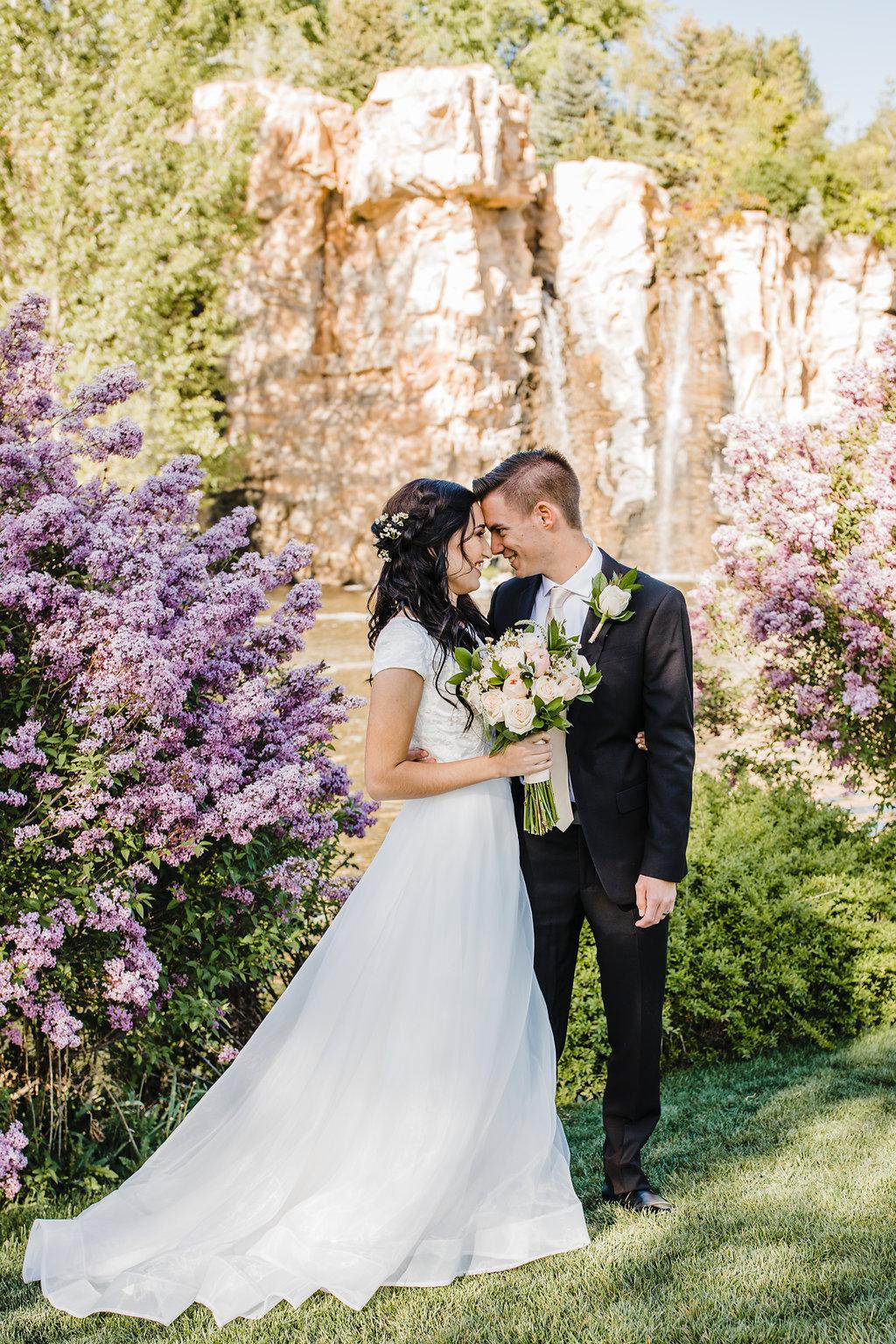 floral romantic professional wedding day photos best wedding photographer in salt lake city utah