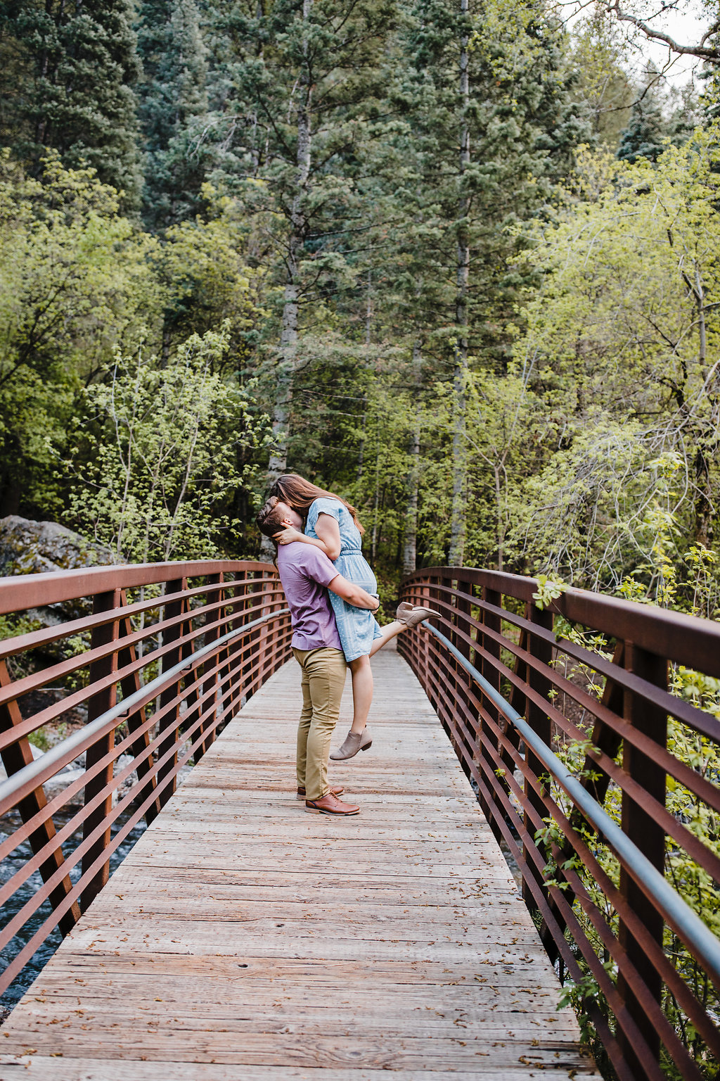 logan utah engagement photographer calli richards mountain engagement photo shoot outdoors natural relaxed posing cache valley young couple