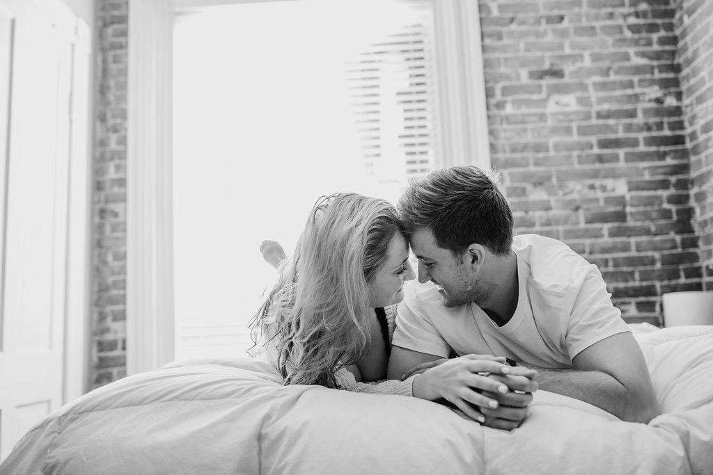 lifestyle engagement photography black and white