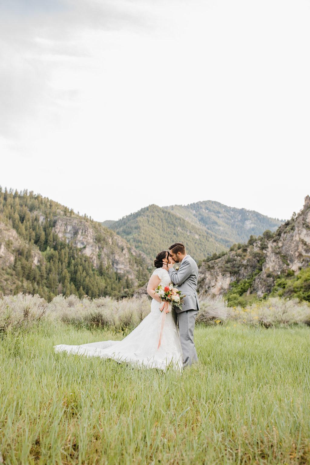 mountain wedding formal photography