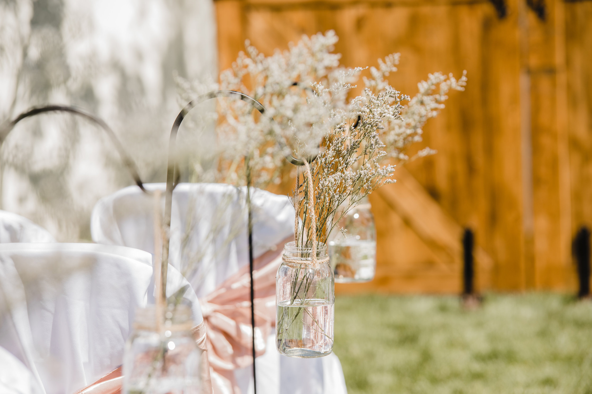 professional wedding photographer in westminister colorado shabby chic wedding decor barn wedding outdoor wedding reception babies breath flowers
