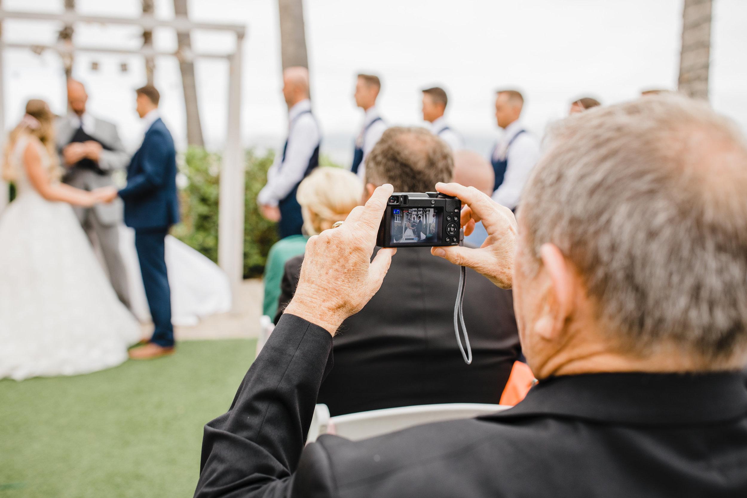 park city wedding photographer outdoor beach wedding groomsman vests wedding guests wedding ceremony