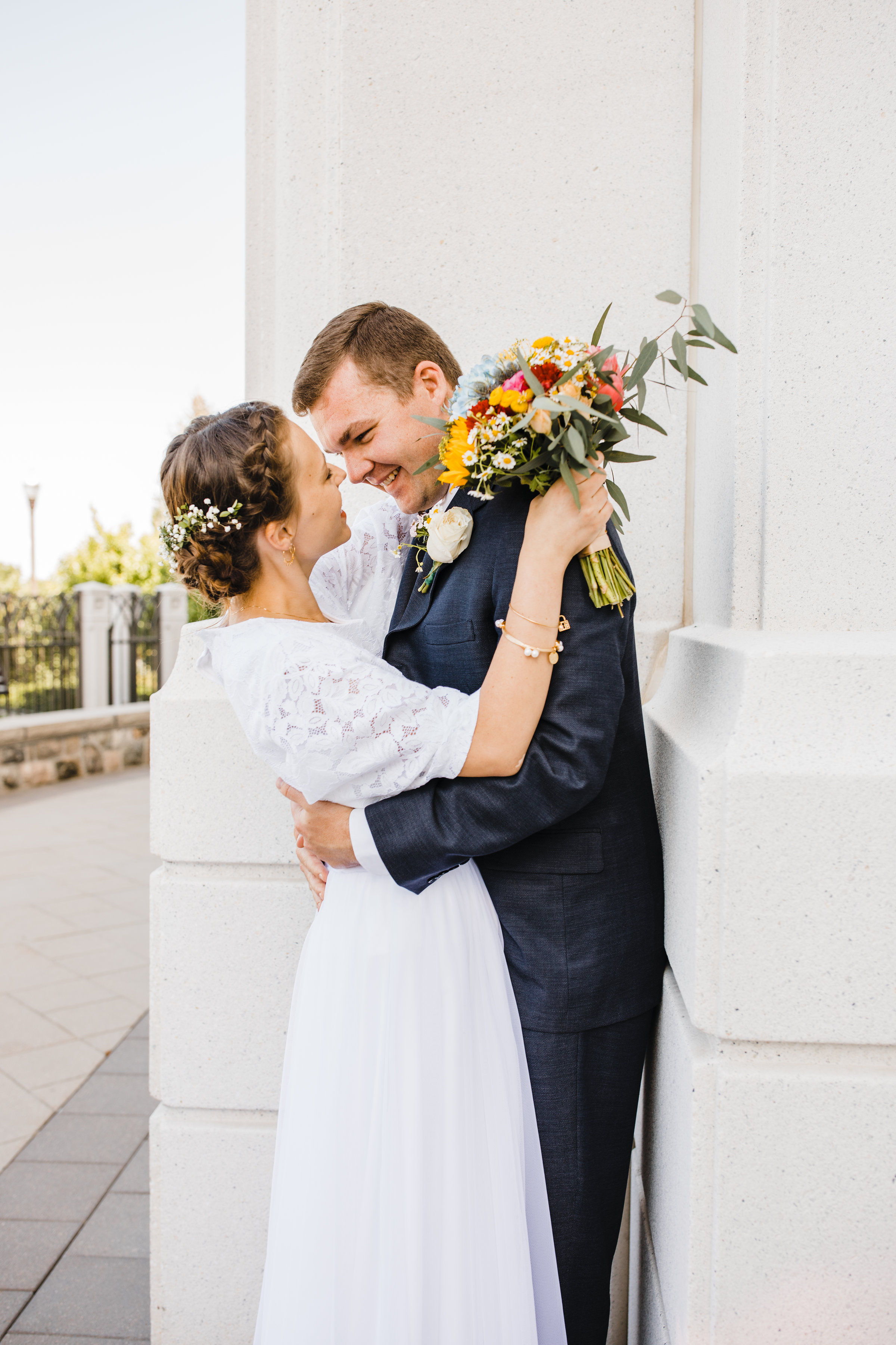 Professional Wedding Photographer in Brigham City Utah LDS Temple Wedding wedding hair