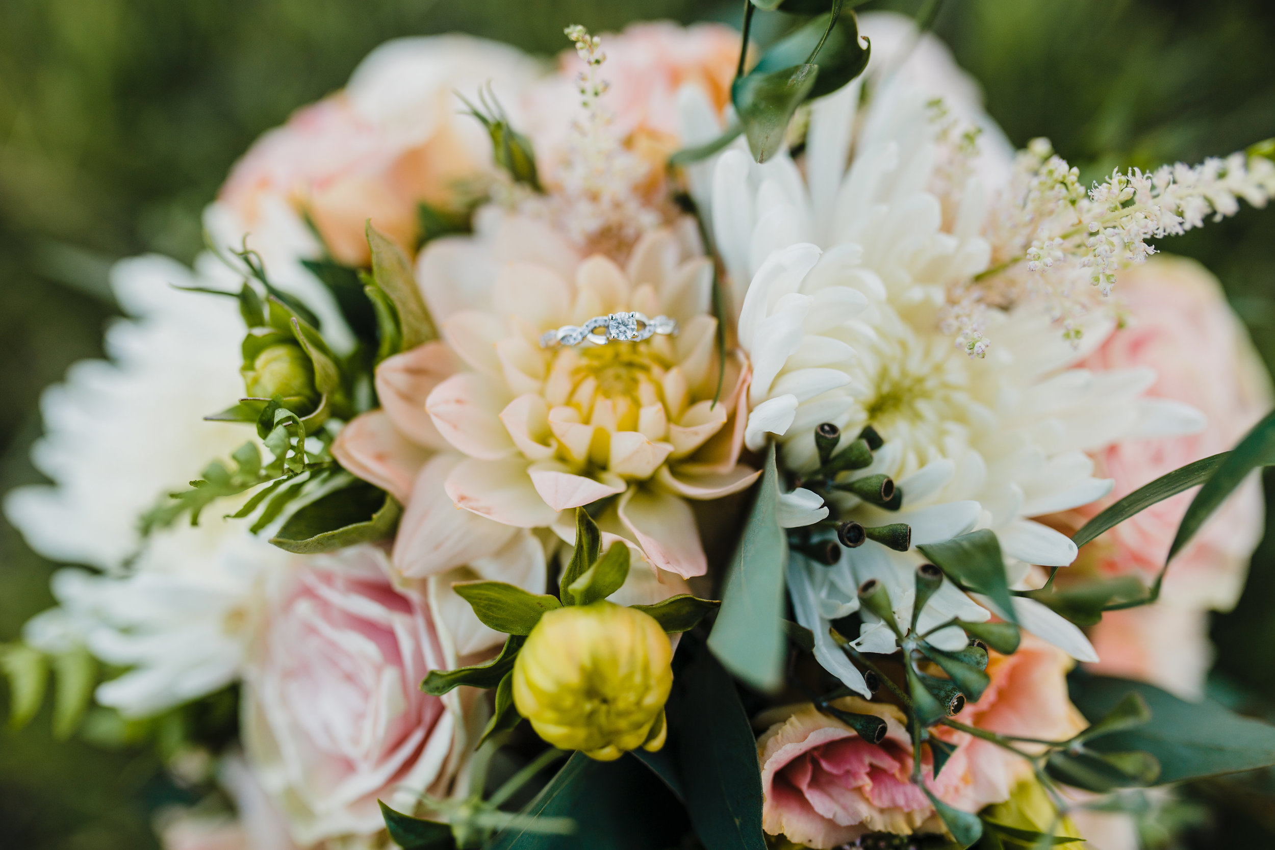 wedding day florals bouquet shot arvada colorado wedding photographer professional photos available for travel