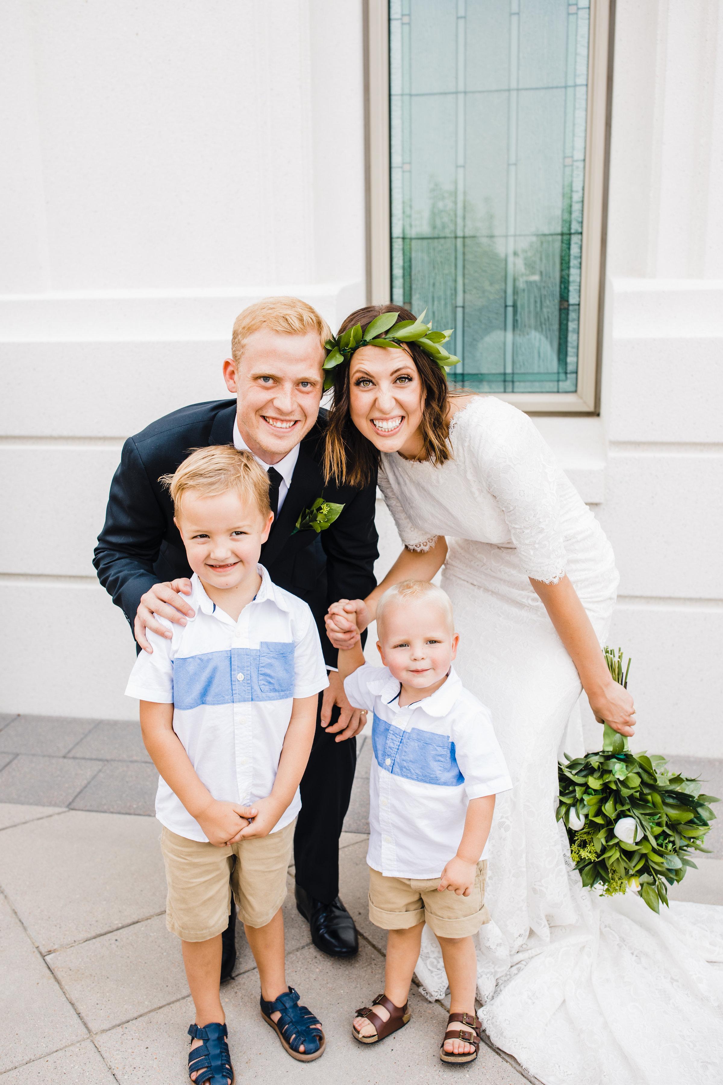 brigham city wedding photographer ring bearers