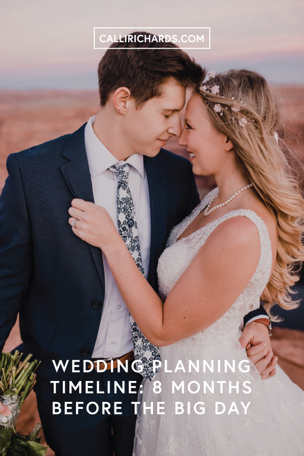 wedding planning timeline checklist things to do eight months before your wedding day