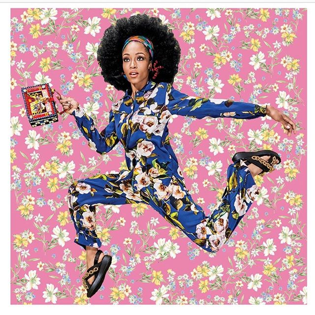 Jumping into the week with @her_studio_london #inspiration #textiledesign #premierevision #surfacedesign #trendspotting #fashiontrends #hometrends #lovewhatyoudo #empoweredwomenempowerwomen #removablewallpaper #homedecor